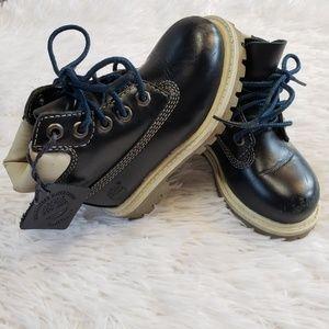 "Timberland Toddler 6"" Blue Waterproof Boots 6m"